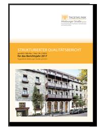 Titelseite Qualitaetsbericht 2017