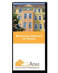 ADAS Betreutes Wohnen Flyer