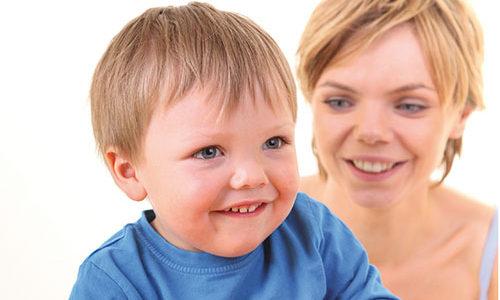 Eltern-Kind-Station Mutter mit Kind